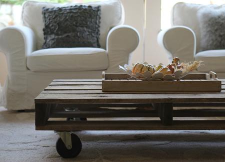 flutter flutter: diy pallet coffee table