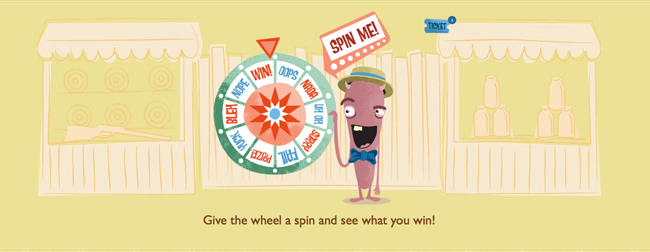 SpinTheWheel